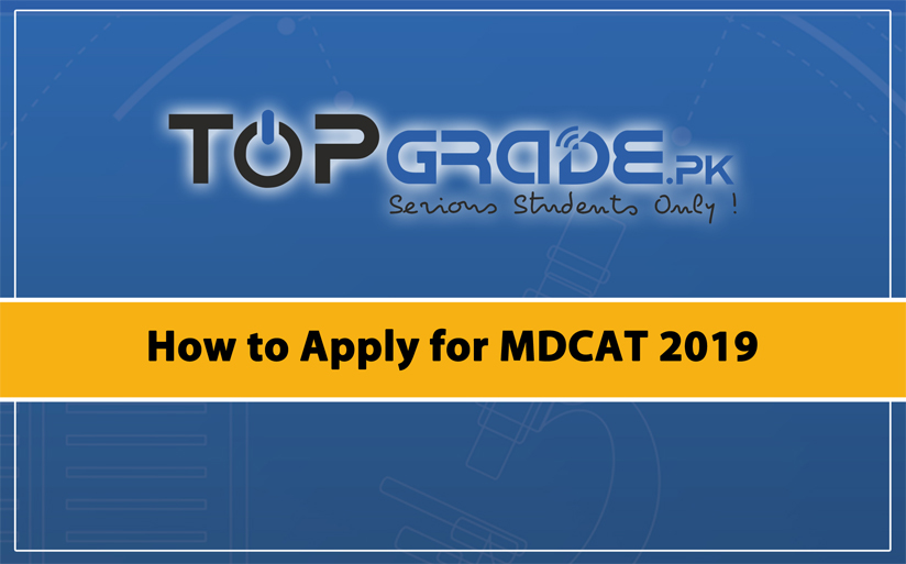 How to Apply for MDCAT