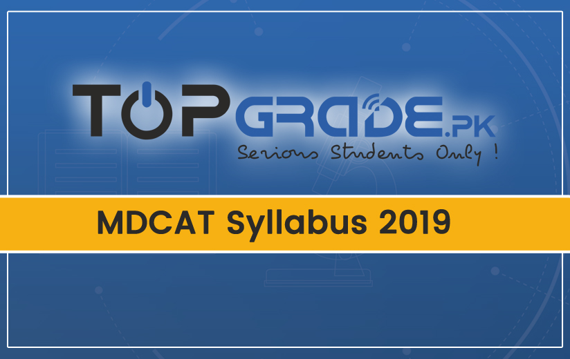 MDCAT Syllabus 2019