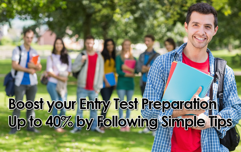 Entry Test Preparations