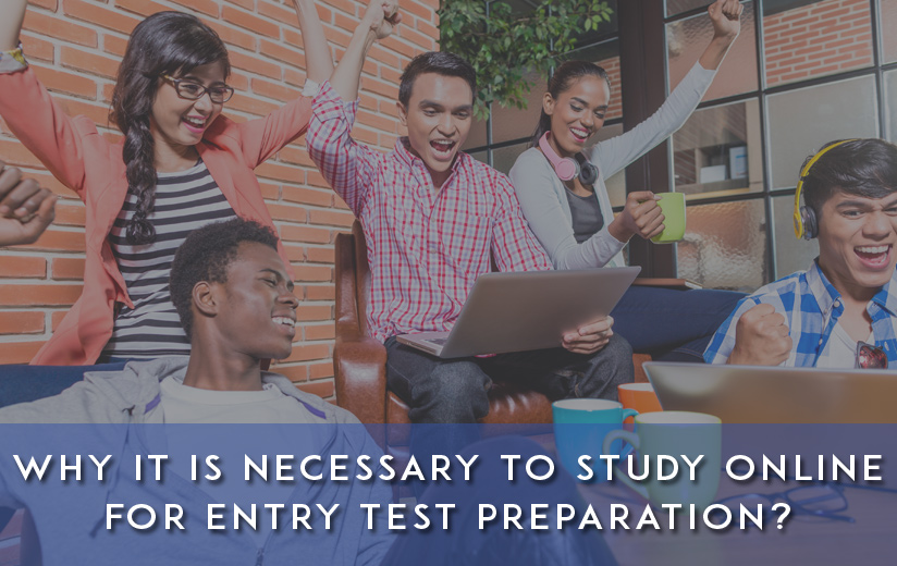 Online Entry Test Preparation