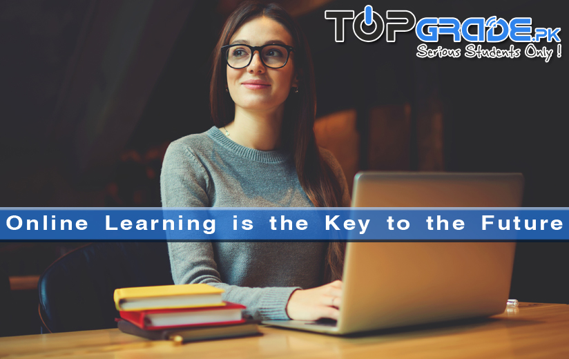 Online Learning is the Key to the Future