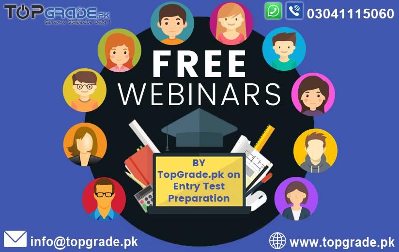 Free Webinars by TopGrade.pk