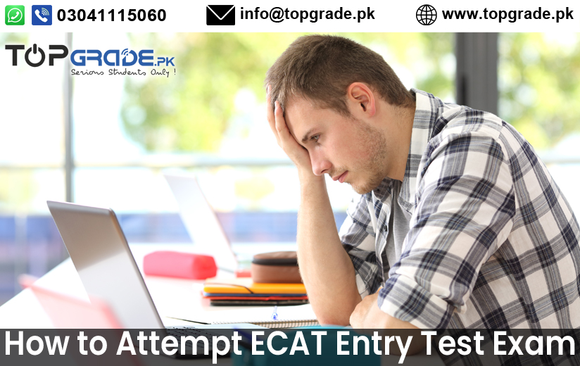 Online ECAT Entry Test Preparation