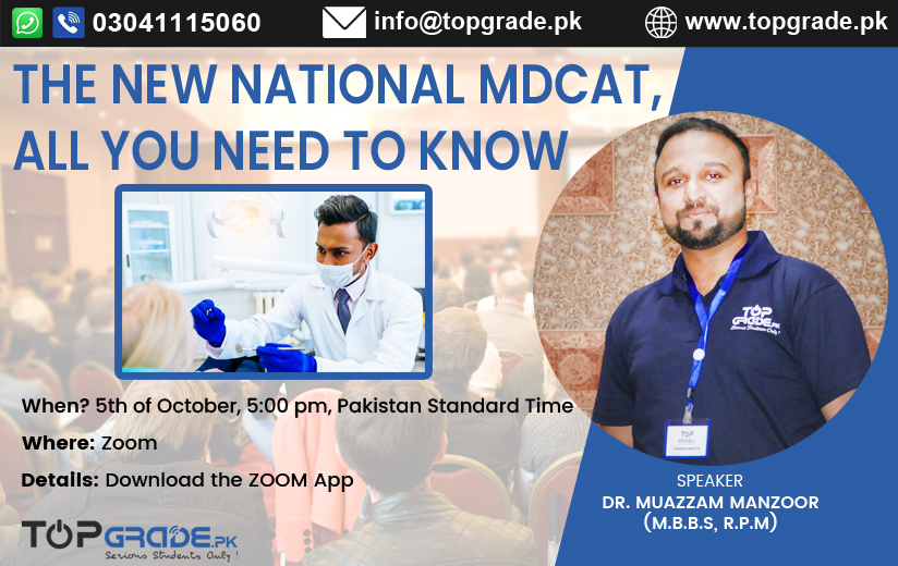 The New National MDCAT, All You Need to Know